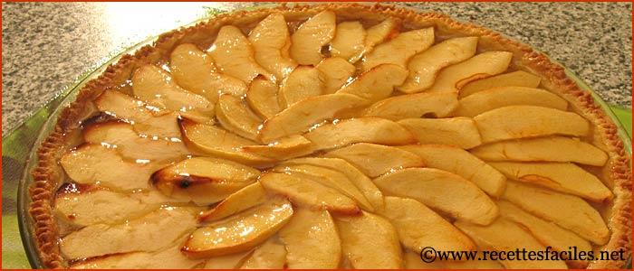 La tarte aux pommes la recette facile et en images pour - Comment couper des pommes pour une tarte ...
