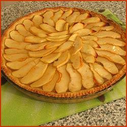 Tarte aux pommes la recette facile pour faire une superbe - Comment couper des pommes pour une tarte ...